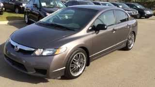 Wetaskiwin (AB) Canada  City new picture : Pre Owned 2010 Honda Civic Sdn 4dr Man DX-G Review - Wetaskiwin, Alberta, Canada