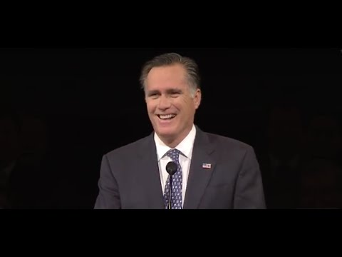 romney - Mitt Romney, former presidential candidate and BYU alum, shares lessons gleaned from his professional and personal life. http://speeches.byu.edu Mitt Romney,...