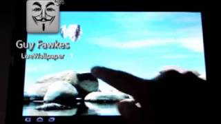 Guy Fawkes LWP YouTube video