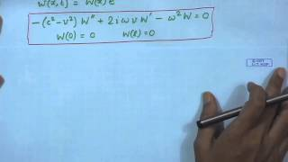 Mod-01 Lec-16 Axially Translating Strings