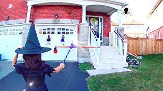 MINHA MANSÃO ASSOMBRADA... ★ Decorando a minha casa para o Halloween Fofo e Fashion no Canadá