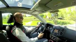 2012 Volkswagen Tiguan SE 2WD Sun And Nav Test Drive And Video Review