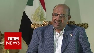 President Omar al-Bashir of Sudan, who has been indicted by the International Criminal Court on counts of genocide, war crimes and crimes against humanity, s...