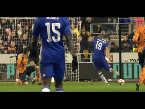 Wolves vs Chelsea 0 - 2 All Goals & Highlights 2017 HD