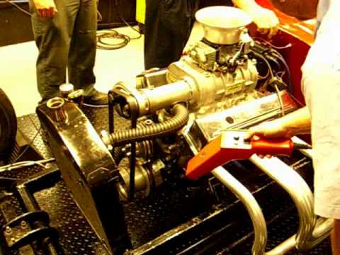 Hot Rod Project T-Bucket Part 2 DYNO CHEVY 350 Supercharger Nitrous Carb