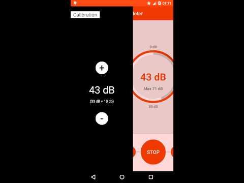 Video of Sound meter - Simple dB Meter