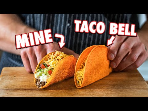 Making Taco Bell Doritos Locos Tacos At Home | But Better