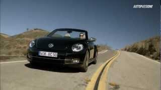 Volkswagen Beetle Cabrio isi expune noua silueta