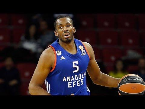 Focus on Derrick Brown, Anadolu Efes Istanbul
