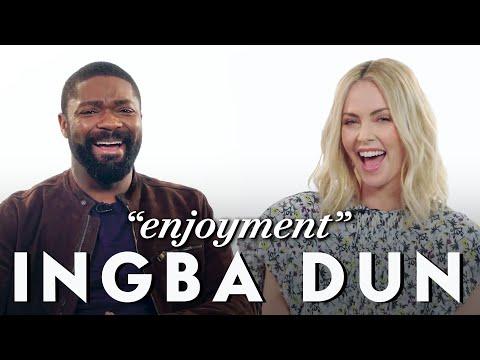 Charlize Theron and David Oyelowo Teach Afrikaans and Yoruba Slang | Vanity Fair