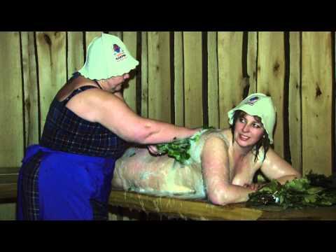 Скрытая камера в бане деревне тем