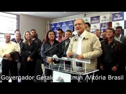 Vitória Brasil - Governador Geraldo Alckmin inaugura Creche Escola e outras obras nesta sexta-feira (29/04) em Vitória Brasil.