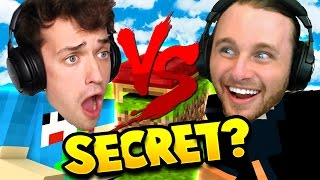 WE GET HOOKED UP WITH A SECRET SERVER BY HYPIXEL!! | Minecraft Bed Wars 1v1 CHALLENGE!!