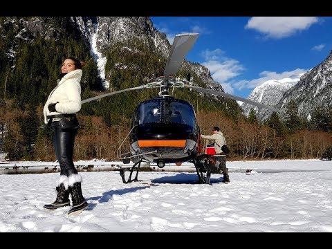 Top Billing goes on a Canadian helicopter adventure