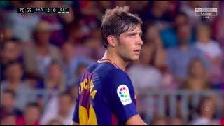 Download Lagu Sergi Roberto vs Real Betis (Home) (Playing as Midfielder) 20/08-17 HD 1080i by RLcomps Mp3