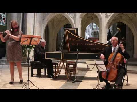 Michel Blavet Sarabanda from Flute Sonata 'La Vibray'