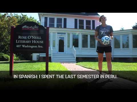 2015 Washington College Women's Soccer Roster Video