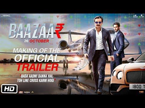 Baazaar - Trailer Making | Saif Ali Khan, Rohan Mehra, Radhika A, Chitrangda S | Gauravv K Chawla
