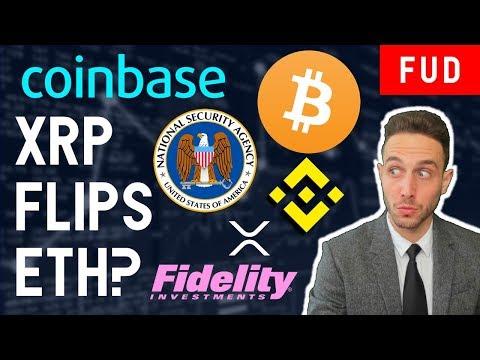 XRP FLIPS ETHEREUM? CRYPTO BULL RUN? BITCOIN RIPPLE NSA MALWEAR IBM BLOCKCHAIN ETF FIDELITY