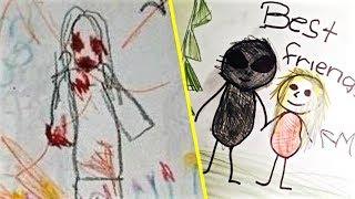 Video Los Dibujos Mas Escalofriantes Hechos Por Niños MP3, 3GP, MP4, WEBM, AVI, FLV Februari 2018