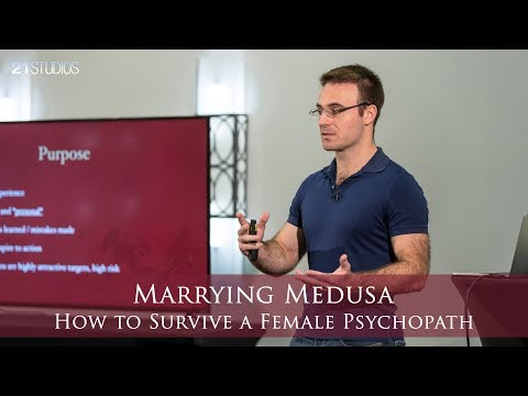 Marrying Medusa: How to Survive a Female Psychopath   Anthony Johnson   Full Length HD