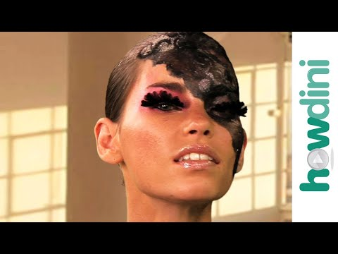 Lady Gaga Inspired Halloween Makeup Tutorial – Halloween Lady Gaga Look