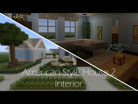 Minecraft Ps4 American Style House 2 Interior