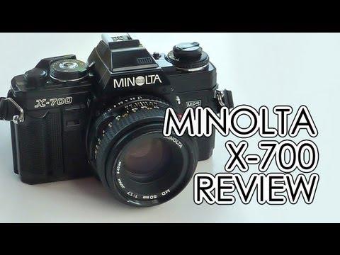 how to open a minolta x-370 camera