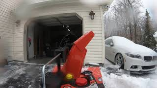 4. Ariens Deluxe 30 inch EFI Snow Blower First Time Use