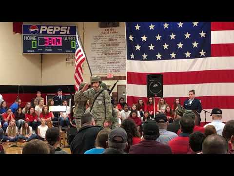 Video: Iwo Jim tribute Friday, Nov. 9, 2018, at Colonial Heights Middle School