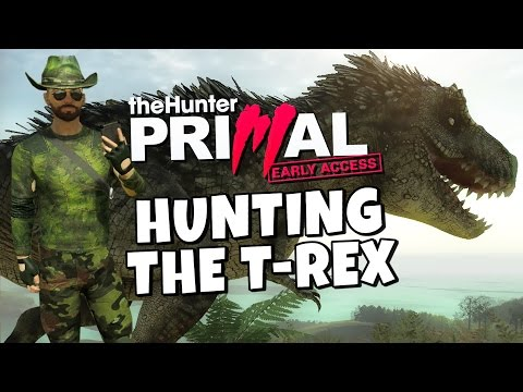 hunter - We go hunting the mighty T-Rex, time to get Tyrannosaurus Rekt. How much firepower do we need to kill it? This is not a DLC , Mod or Addon. It's a Standalone Early Access game. Steam: http://store....