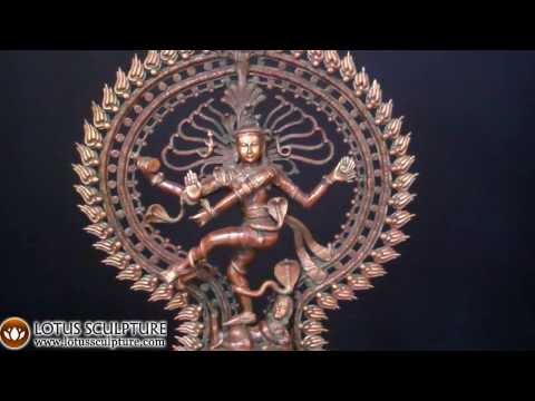 SOLD Brass Dancing Shiva Nataraja 28