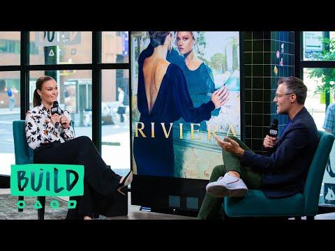 "Julia Stiles Talks About The Series, ""Riviera"""