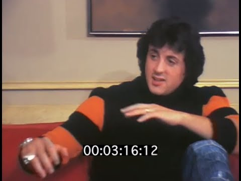 Interview with Stallone on Rocky (San Francisco, '76)
