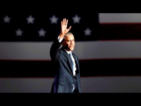 Прощальная речь Обамы. ПОЛНАЯ ВЕРСИЯ НА РУССКОМ - DomaVideo.Ru