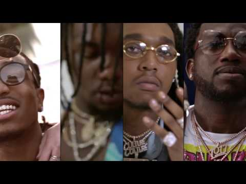 Migos – Slippery feat. Gucci Mane [Official Video]