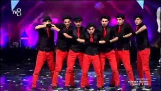 """Yetenek Sizsiniz Türkiye 2.tur - """"Crazy Eyes Crew"""" Dans performansları (AZƏRBAYCANLI GRUP)"""
