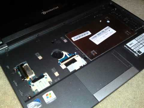 comment demonter packard bell dot s
