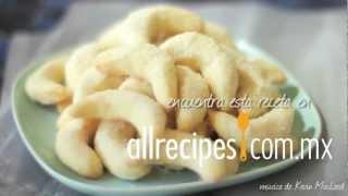 Cómo hacer galletas de media luna