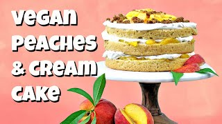 How to Make a Peach Cake by Gretchen's Bakery