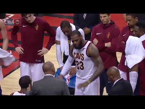 LeBron James  Angry On Cavaliers Defence