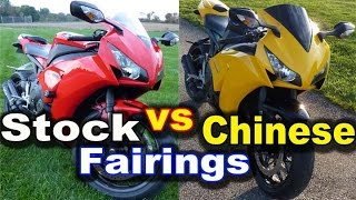 9. Aftermarket Fairings vs Stock Fairings - Truth About Chinese Motorcycle Fairings - Buyer Guide Tips