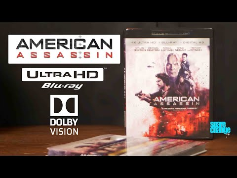 American Assassin 4K Bluray Review | Unboxing | Dolby Atmos | Dolby Vision