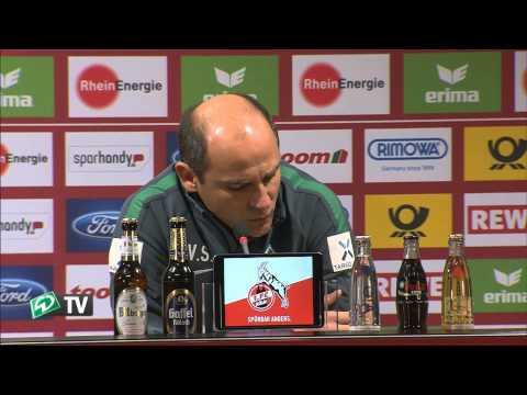 Pressekonferenz: Skripnik nach dem Spiel beim 1.FC Köln I SV Werder Bremen