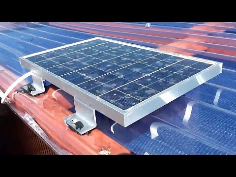 solar - A requested video offering a bit more detail on how I wired up the solar panel into the shed to provide a 12v power system. Links to parts below.... Tap with...