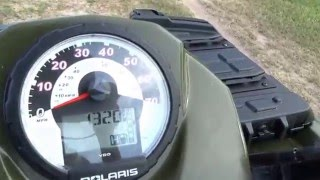 4. Polaris Sportsman 500 HO 4x4 2008