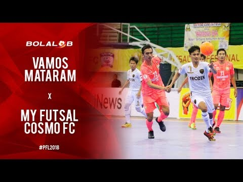 Vamos Mataram (5) Vs (3) My Futsal Cosmo Fc Jakarta - Highlights Pro Futsal League 2018
