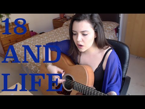 Skid Row - 18 And Life (Violet Orlandi Cover)