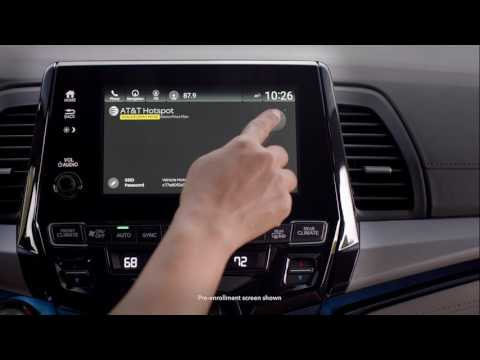 2018 Honda Odyssey: Advanced Rear Entertainment System Features