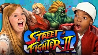 Nonton Super Street Fighter Ii  Teens React  Retro Gaming  Film Subtitle Indonesia Streaming Movie Download